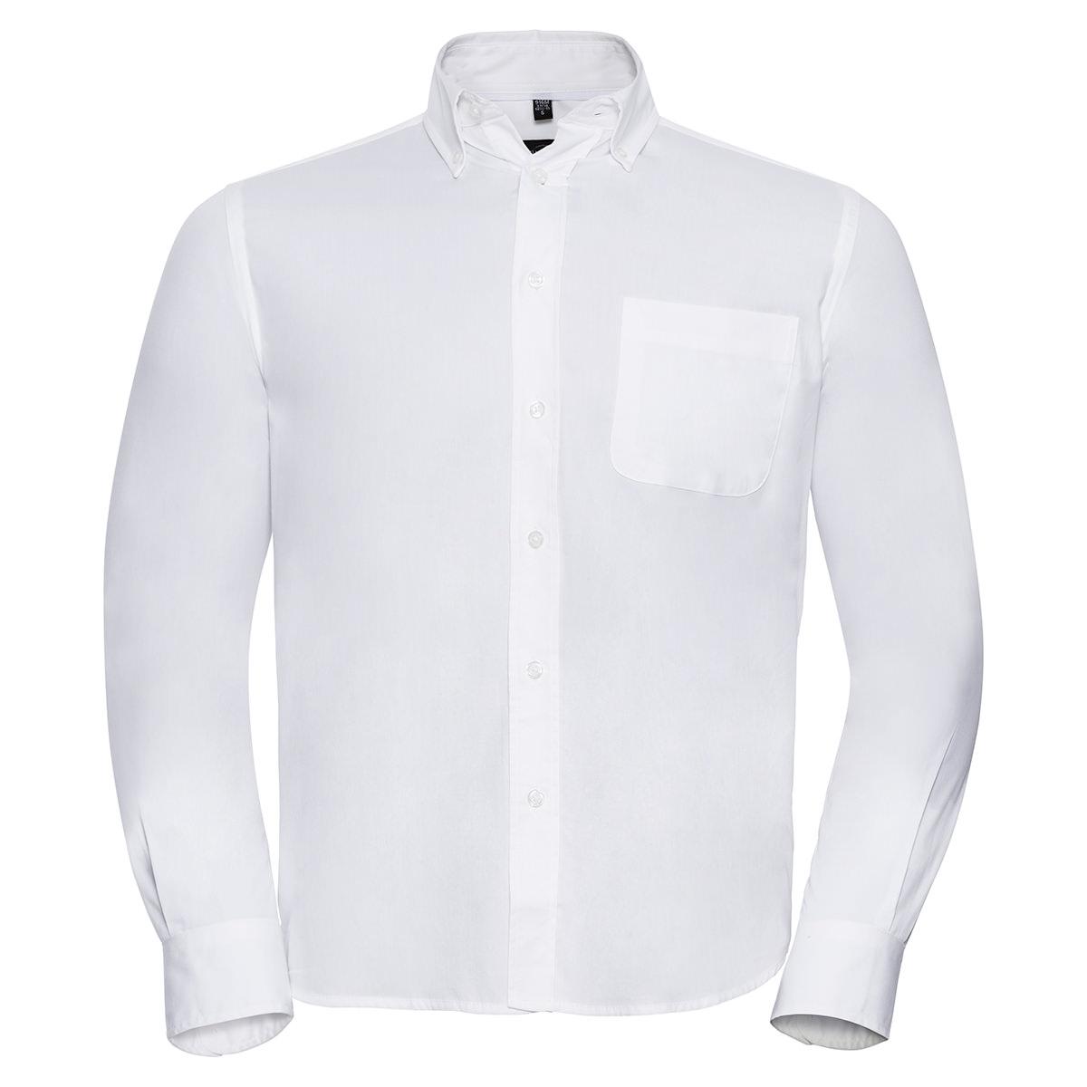Klassisches Twill Hemd - Langarm