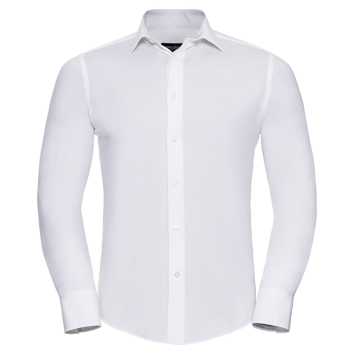 Körperbetontes Stretch Hemd - Langarm