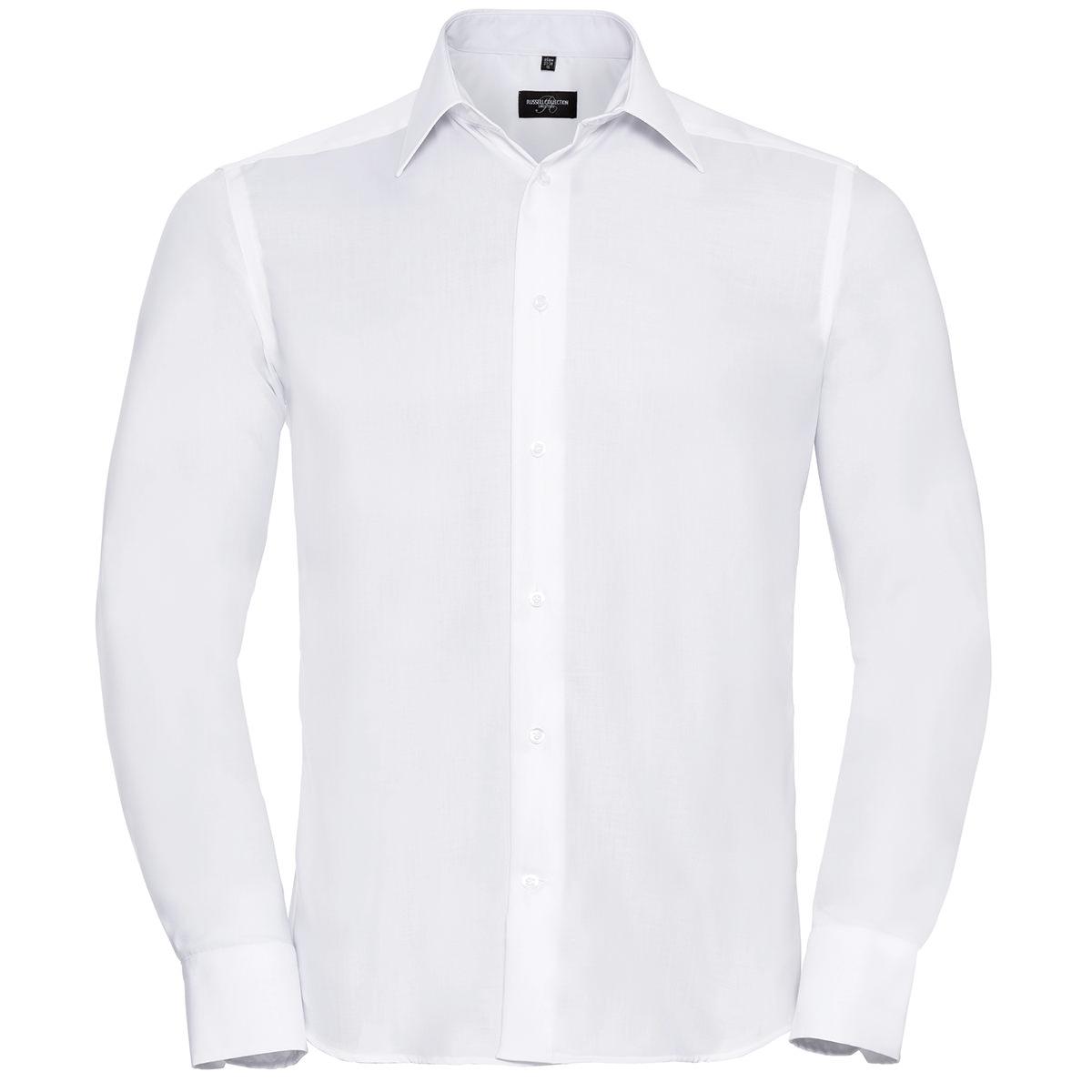 Klassisches bügelfreies Hemd - Langarm