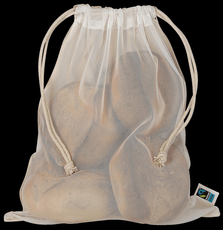 Netzbeutel aus Fairtrade-Baumwolle