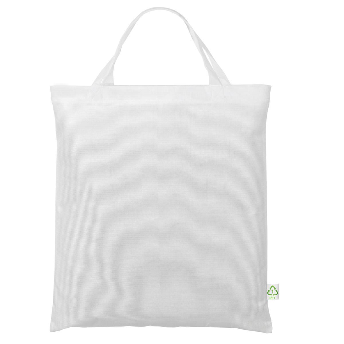 Recycling-Tasche mit zwei kurzen Henkeln