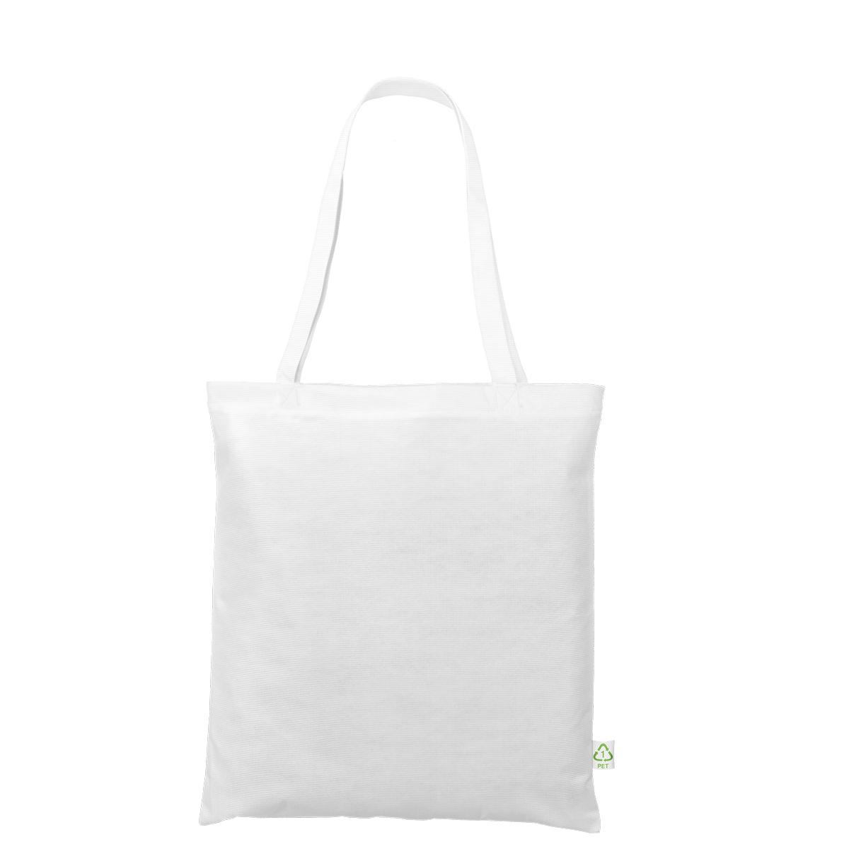 Recycling-Tasche mit zwei langen Henkeln