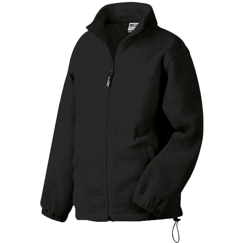 Full Zip Fleece Jacke